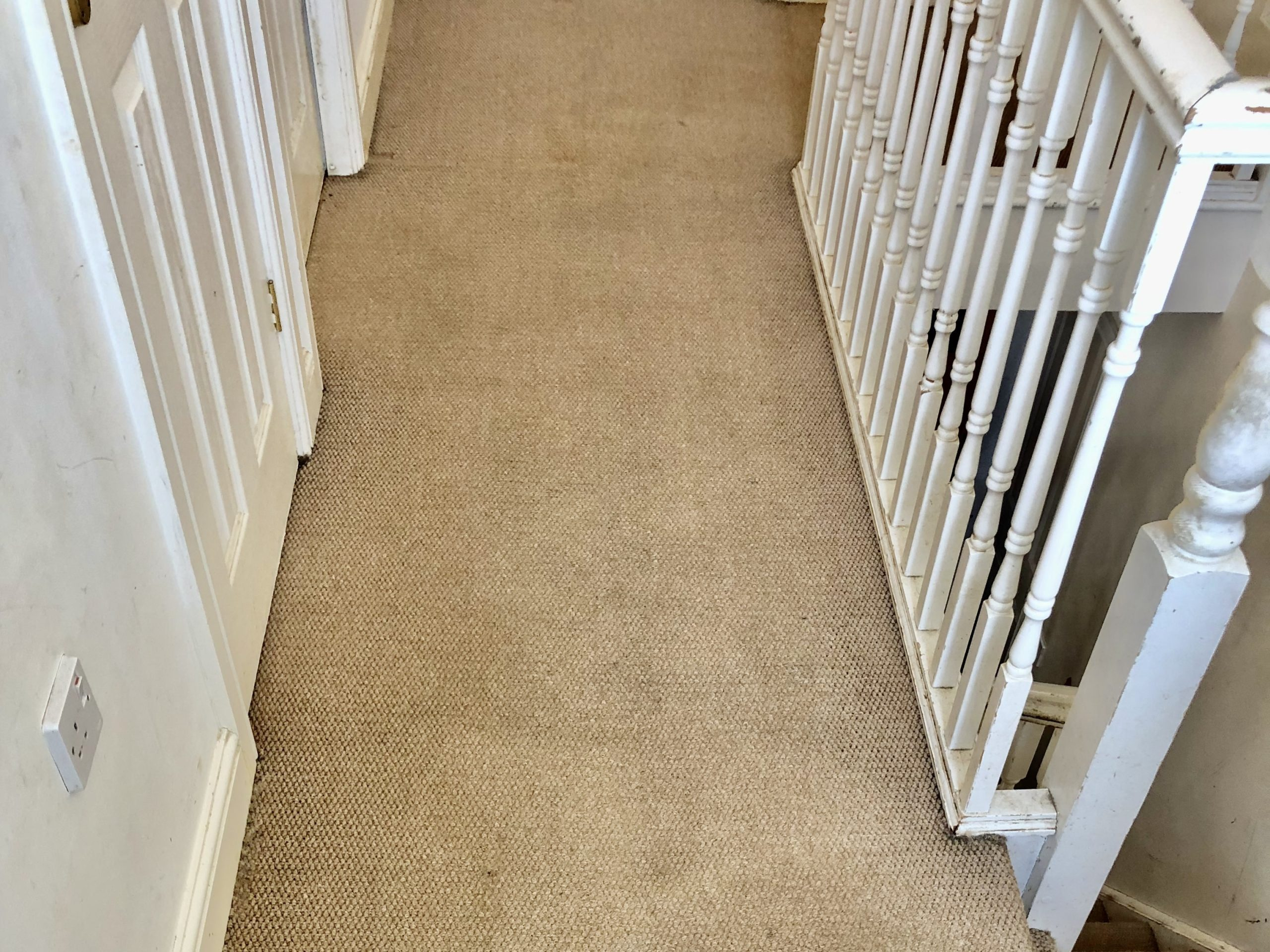 Carpet cleaning landing in Higham Ferrers After