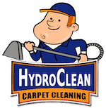 HydroClean Carpet & Upholstery Cleaning Logo